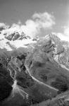 Вид на один из склонов горы Эльбрус. СССР, Кавказ. [950-е гг.] Фот. В.А. Темин.