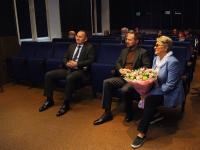 Встреча представителей администрации городского округа Красногорск с архивистами в кинозале архива