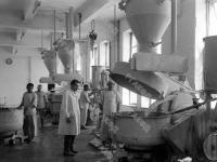 Вид одного из цехов хлебозавода в г. Кабуле. Афганистан, г. Кабул. 1964 г. Фотограф В.Б. Соболев.