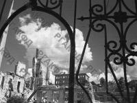 Вид разрушенных домов на улице Карла Маркса в Севастополе. г. Севастополь, 23 августа 1944 г. РГАКФД. Арх. № 0-256406.