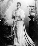 Александра Федоровна, урожденная принцесса Гессен-Дармштадская Алиса. Великобритания. 1894. Фотограф W. Downej. РГАКФД.