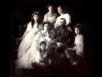 Портрет царской семьи. Ливадия. Российская империя. 1914. Фотограф не установлен. ГА РФ.