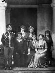 Семья императора Николая II. Ливадия. Российская империя. 1914. Фотограф не установлен. РГАКФД.